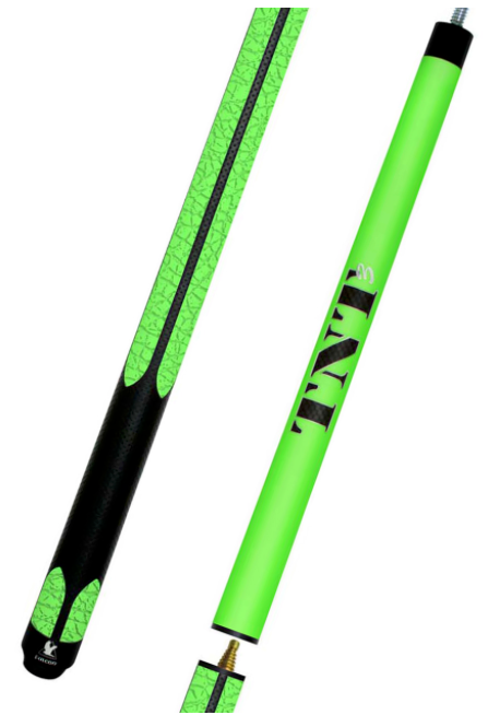 Falcon TNT3 Jump Break Cue Green