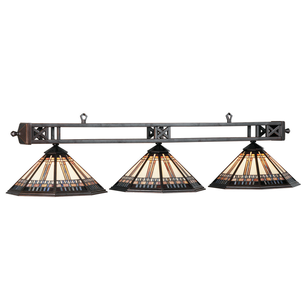 "54"" WINSLOW 3 LT BILLIARD LAMP"