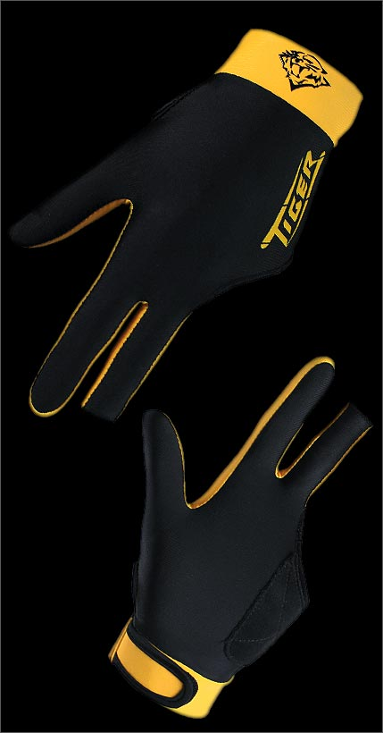 Tiger Billiard Glove Right (S,M,L,XL)