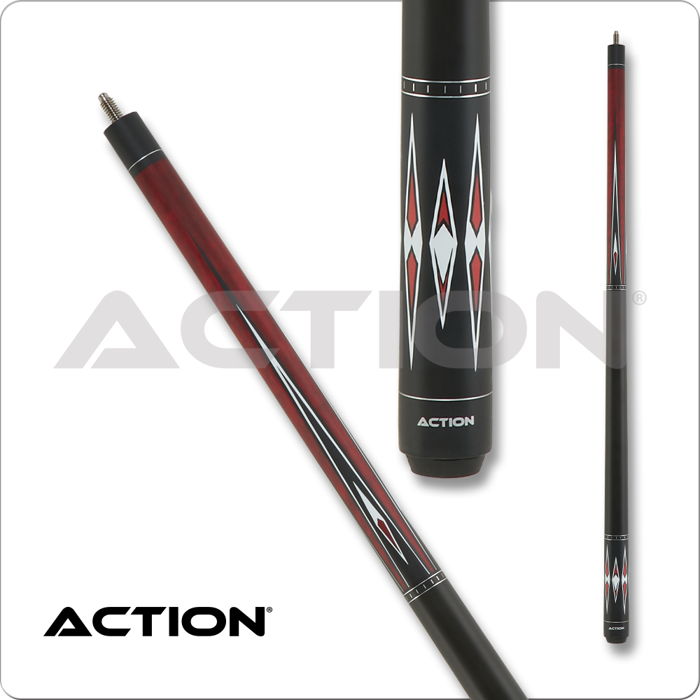 Action Classic Amber w/ Black & White Points ACE07