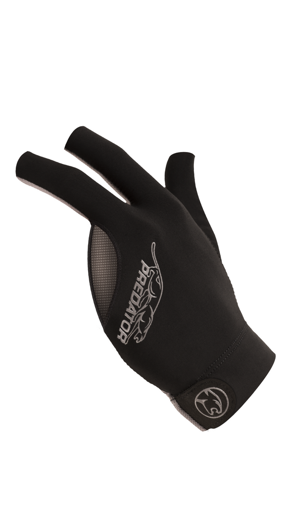 Predator Second Skin Billiard Gloves - Gray