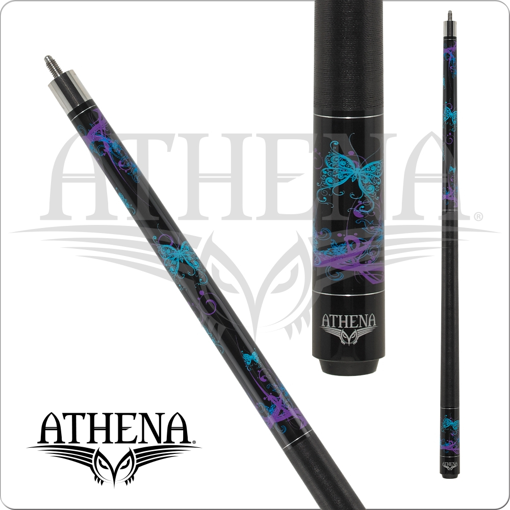Athena - Teal and Purple Butterflies