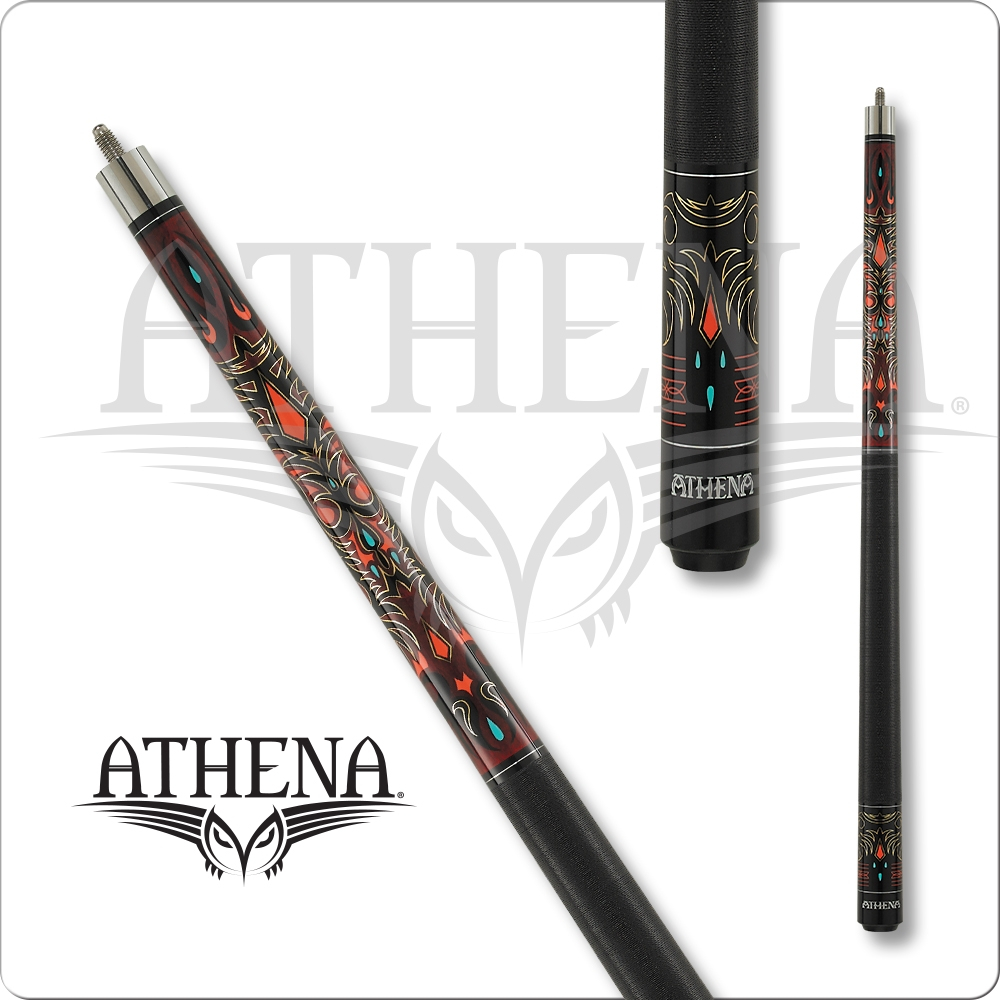 Athena - Burgundy Tribal - ATH41
