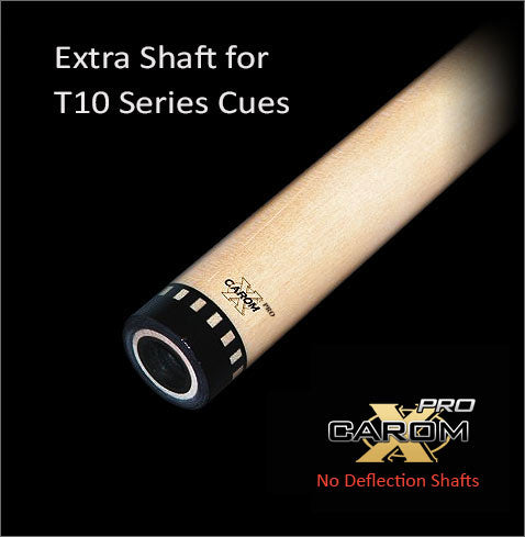 Tiger T10 Carom-X PRO No Deflection Shaft
