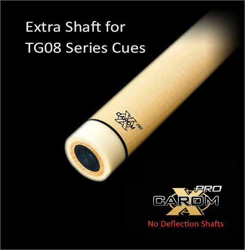 Tiger Extra TG08 Carom-X PRO No Deflection Shaft