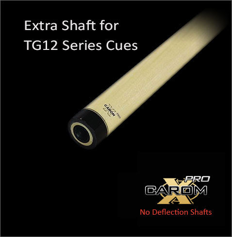 Tiger Extra TG12 Carom-X PRO No Deflection Shaft