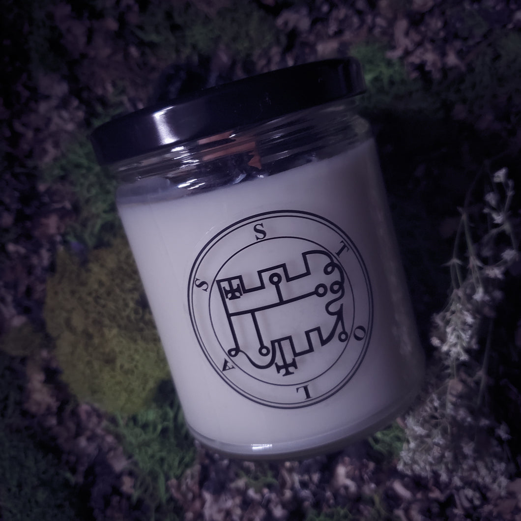 Stolas Altar Candle