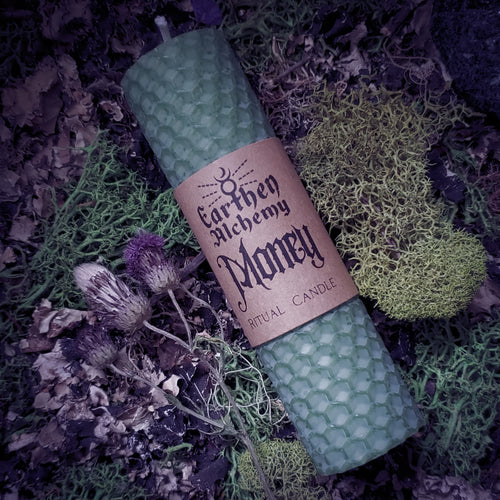 Money Ritual Candle