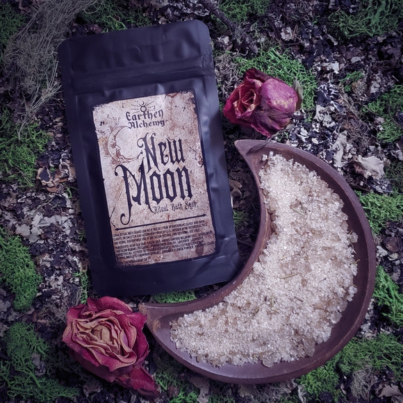 New Moon Ritual Bath Soak