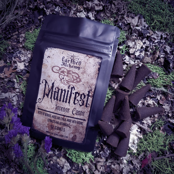 Manifest Incense Cones