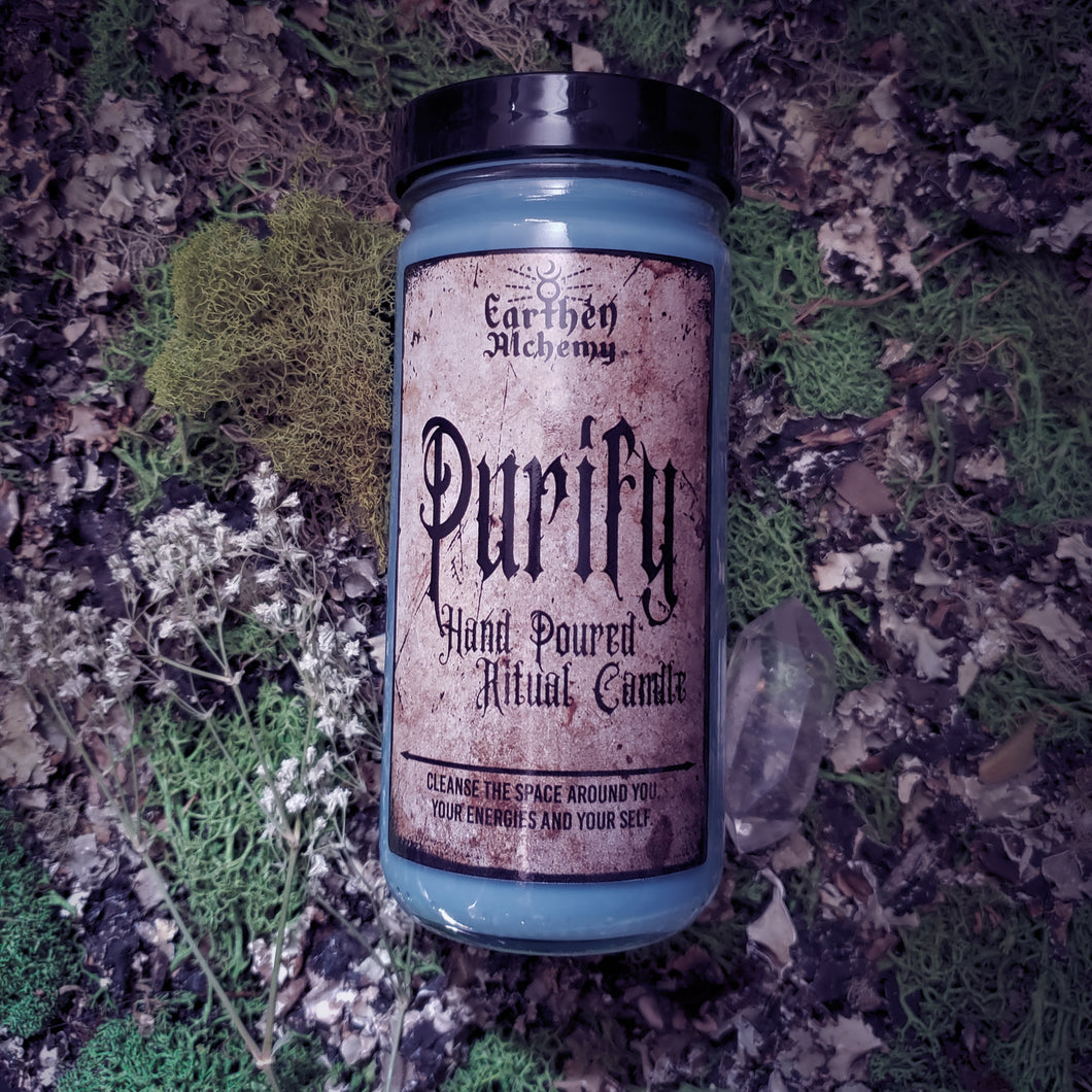 Purify Ritual Candle