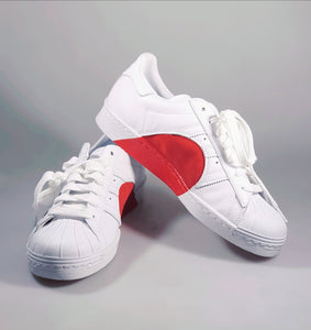 adidas superstar limited edition red