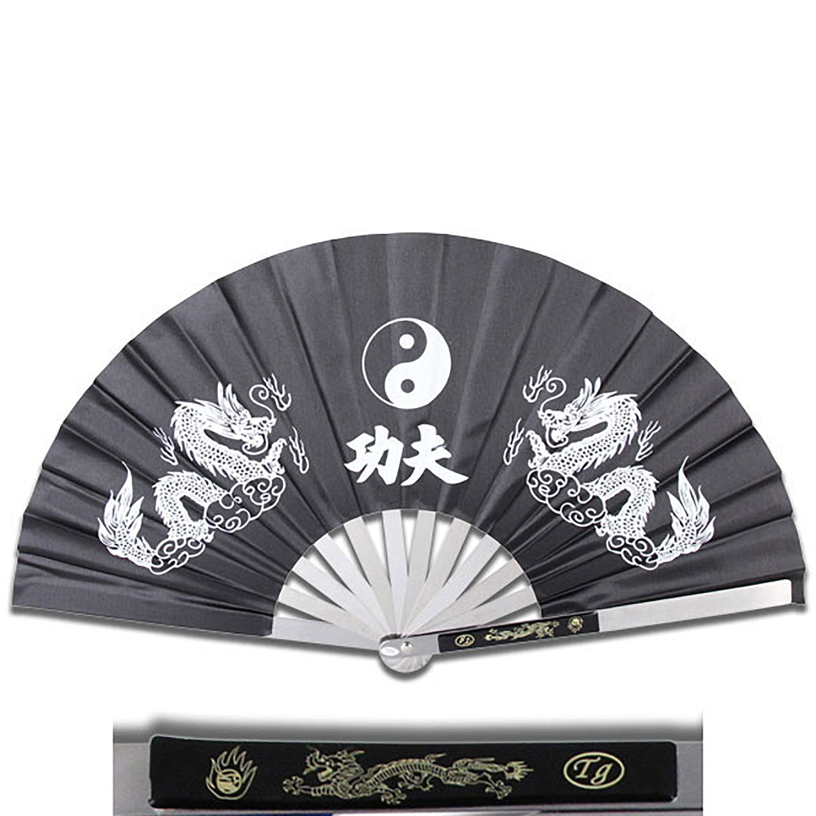 2510-CBK Kung Fu Fighting Fan