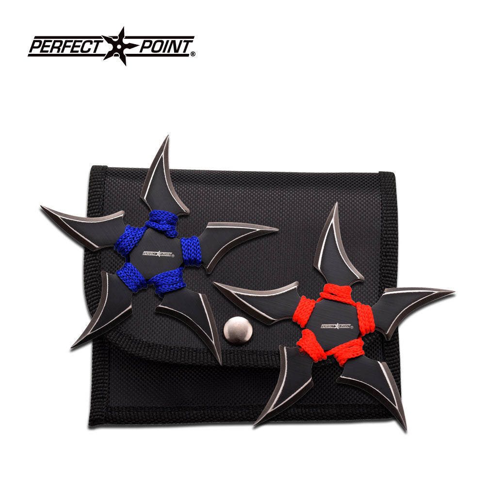 Perfect Point 90-45BR-2 Throwing Star Set