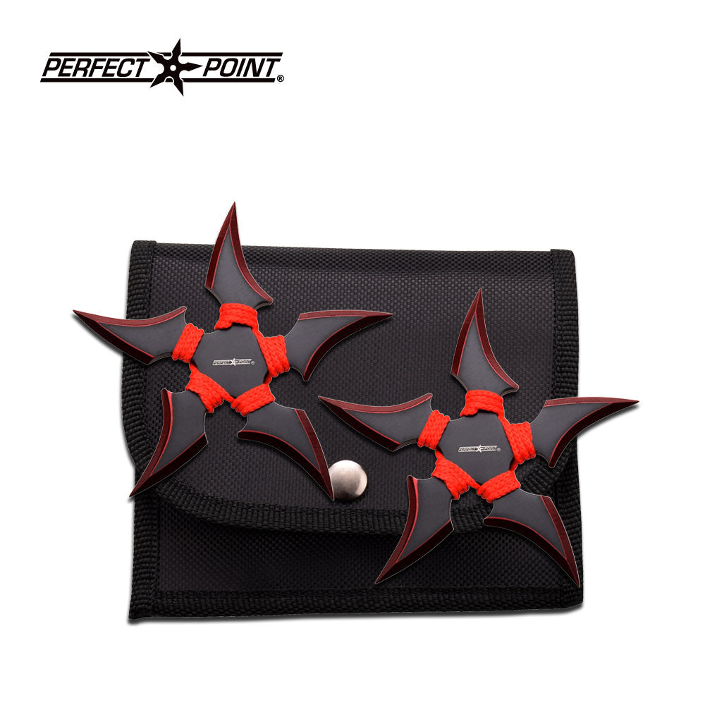 Perfect Point 90-45RD-2 Throwing Star Set