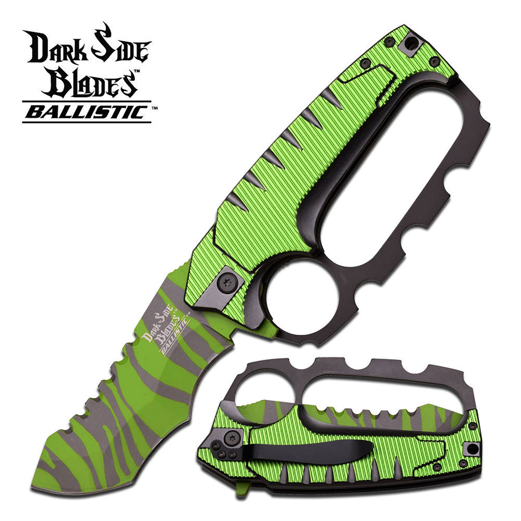 Dark Side Blades DS-A012GN Spring Assisted Knife