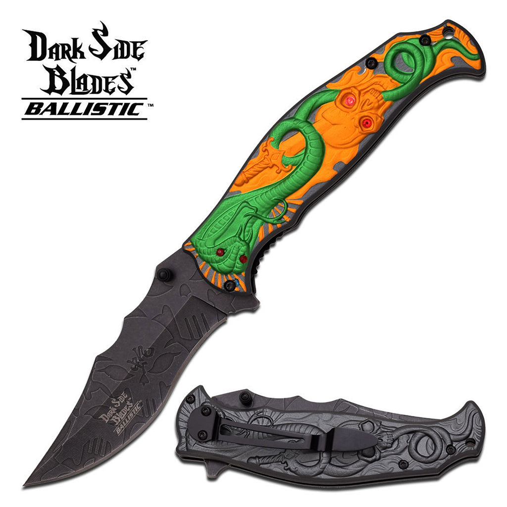 Dark Side Blades DS-A032GG Spring Assisted Knife