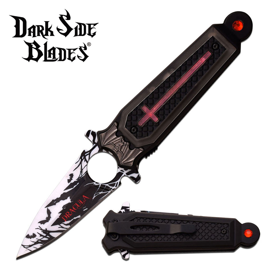Darkside Blades DS-A041RD Spring Assisted Knife