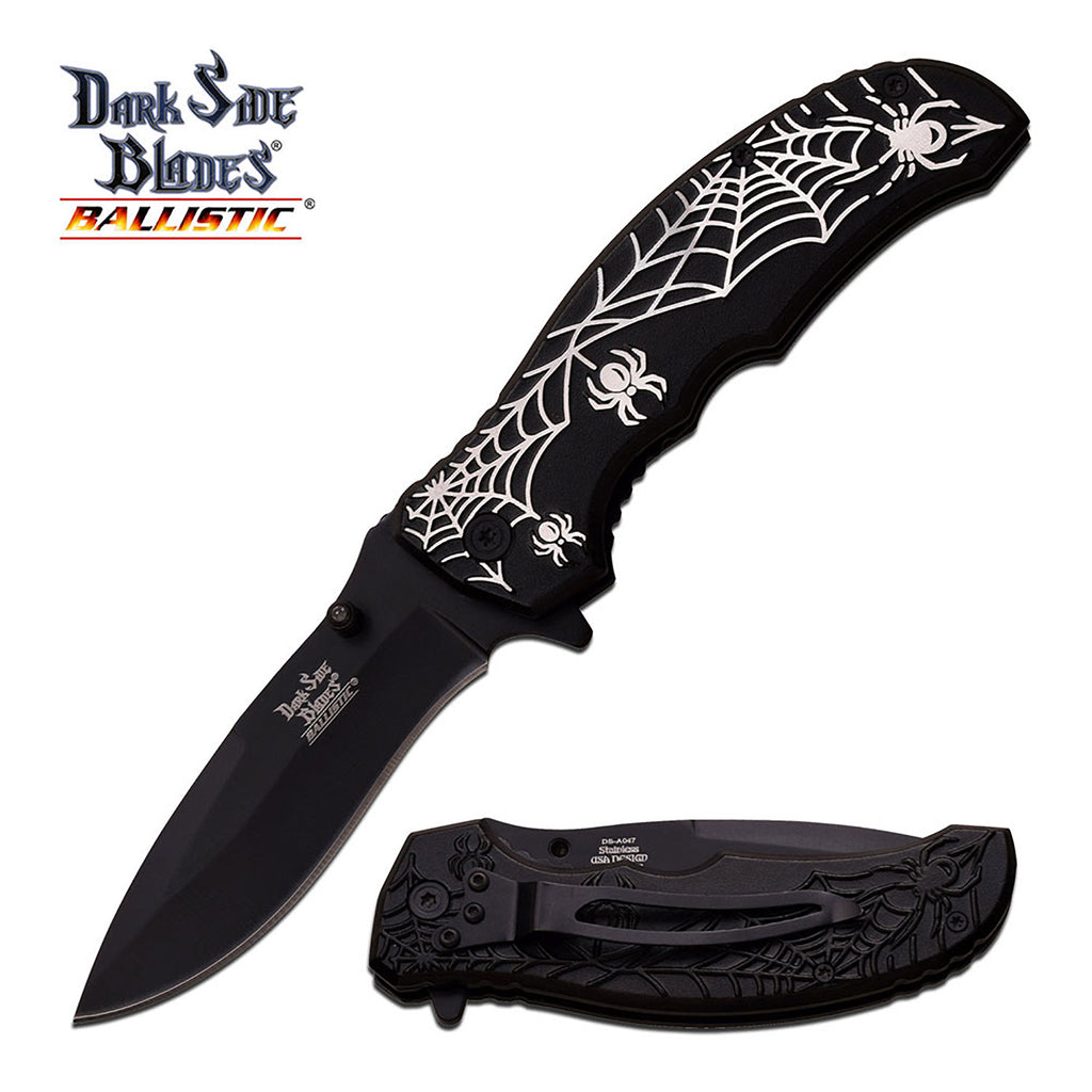 Dark Side Blades DS-A047BK Spring Assisted Knife