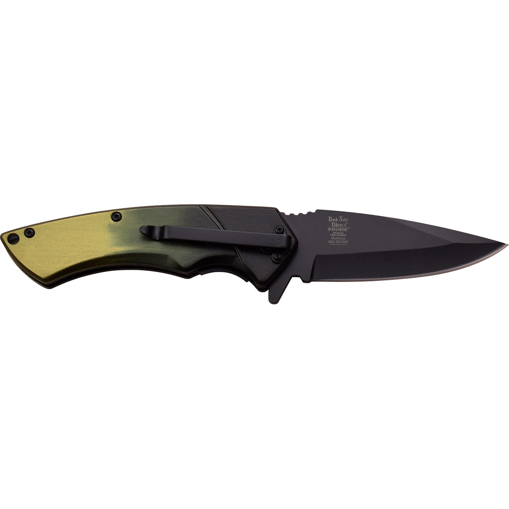 Dark Side Blades DS-A053GN Spring Assisted Knife