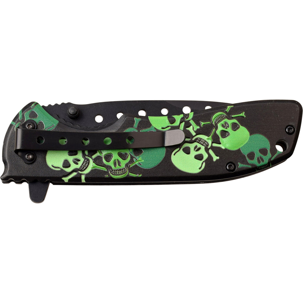 Darkside Blades DS-A060GN Spring Assisted Knife