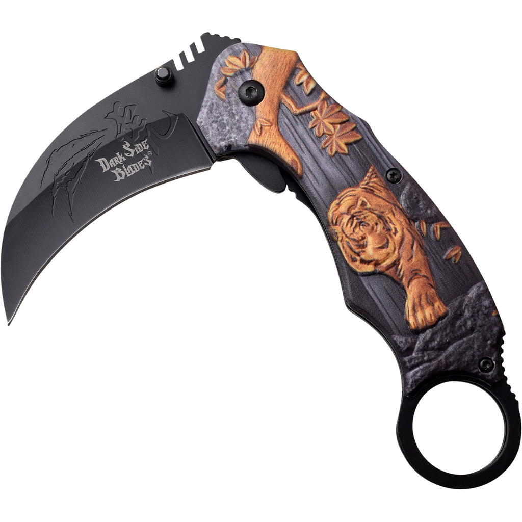 Darkside Blades DS-A069GD Spring Assisted Knife