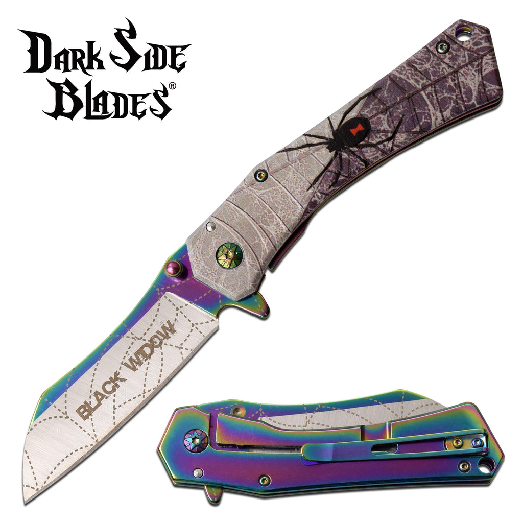 Darkside Blades DS-A071RB Spring Assisted Knife