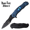 Related product : Darkside Blades DS-A073BL Spring Assisted Knife