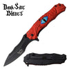 Related product : Darkside Blades DS-A073RD Spring Assisted Knife