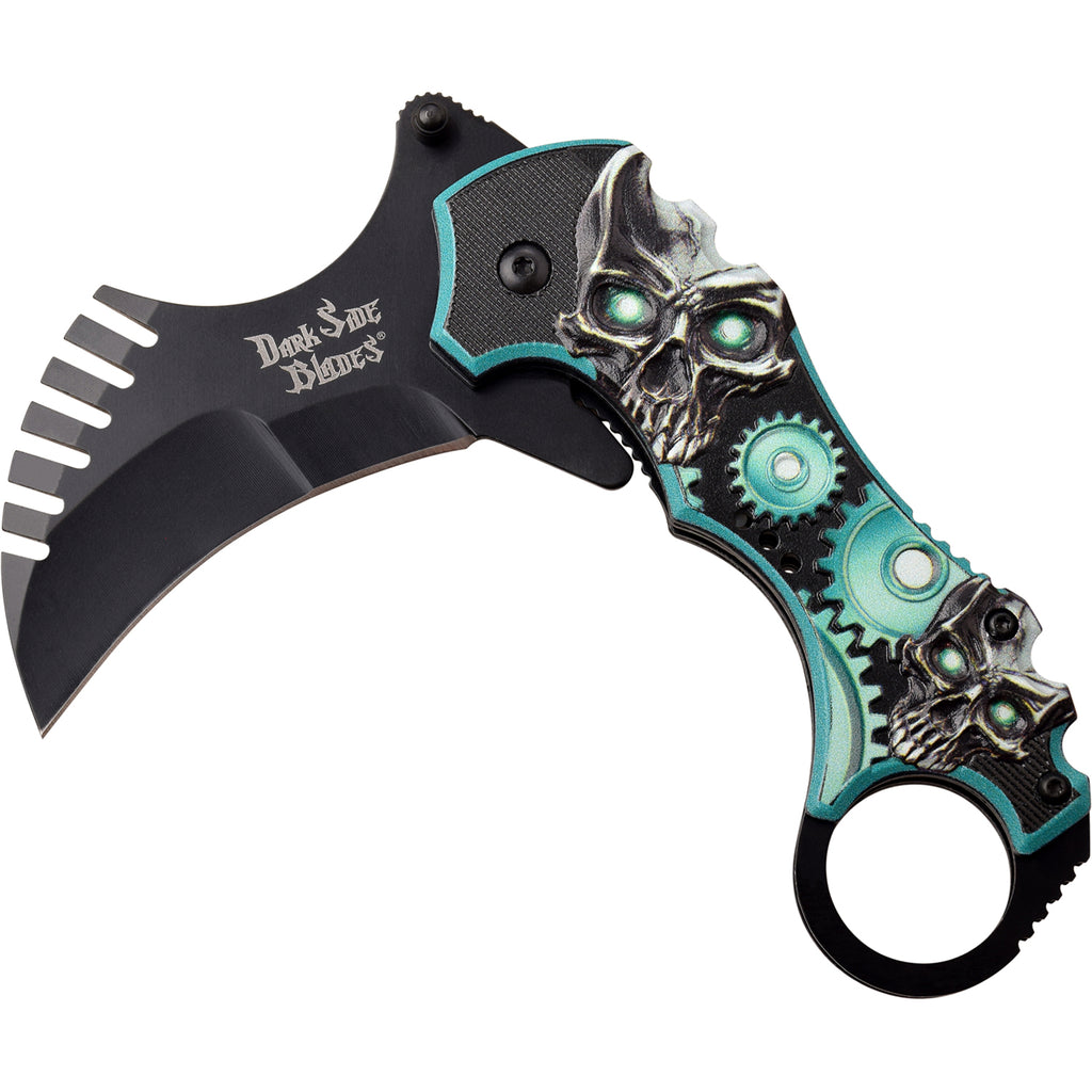 Darkside Blades DS-A075GN Spring Assisted Knife