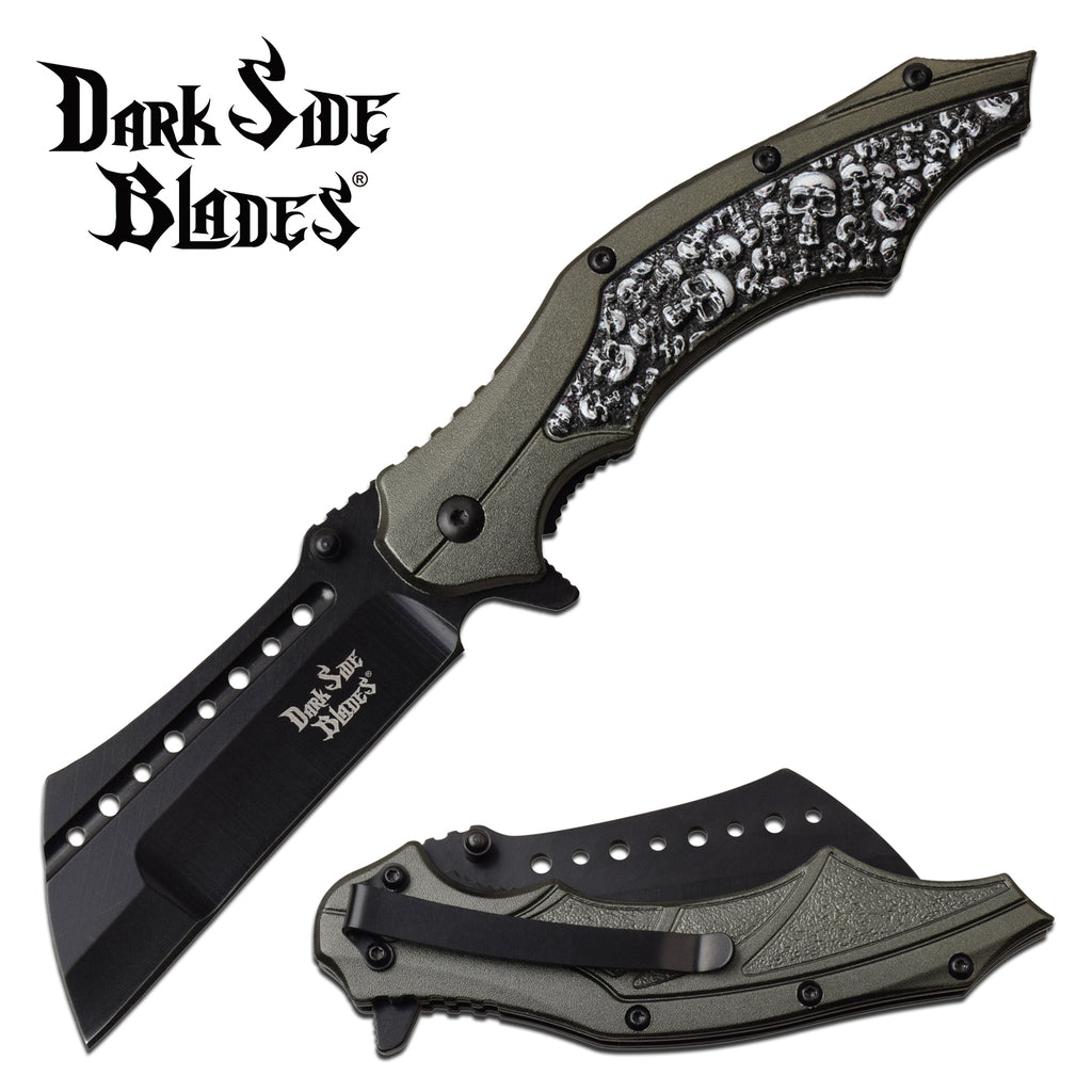Darkside Blades DS-A079GY Spring Assisted Knife