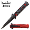 Related product : Darkside Blades DS-A081RD Spring Assisted Knife