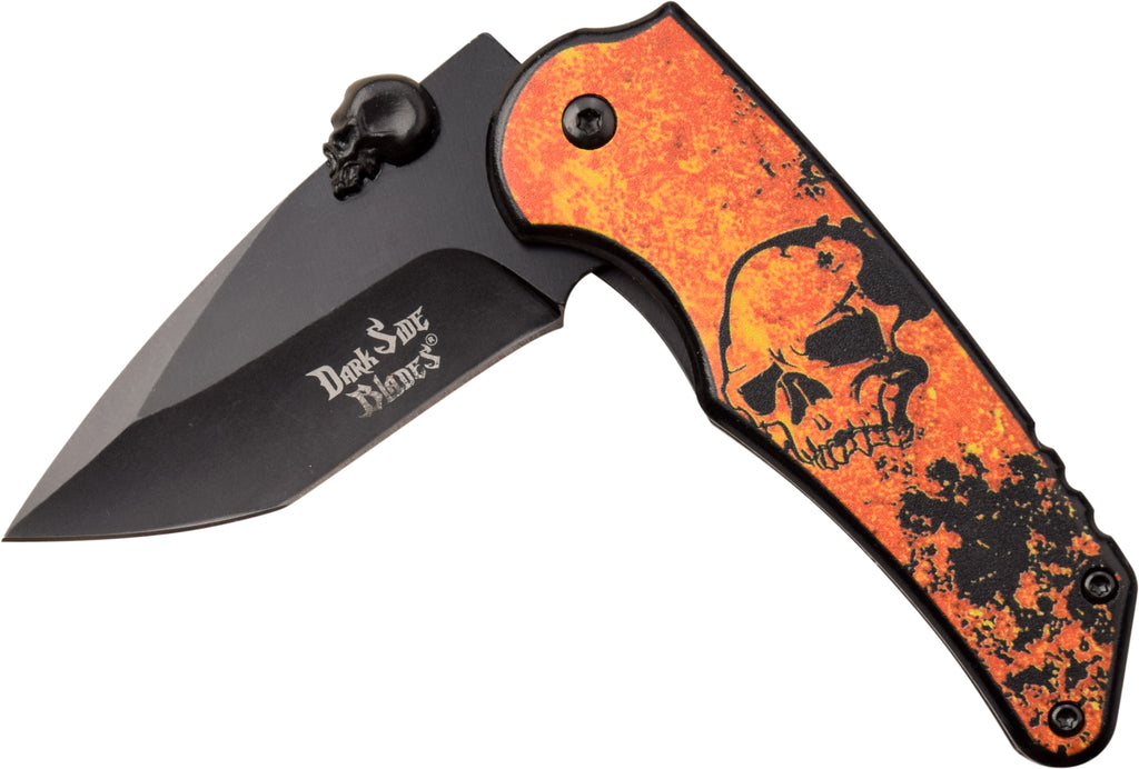 Darkside Blades DS-A083OR Spring Assisted Knife
