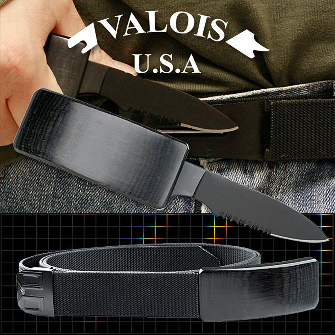 DV-01 Belt Buckle Knife