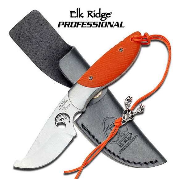 Elk Ridge EP-002OR Fixed Blade Knife