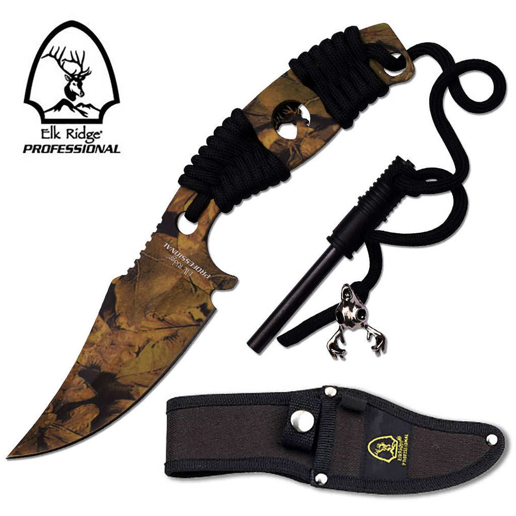 Elk Ridge EP-20-01CA Fixed Blade Knife