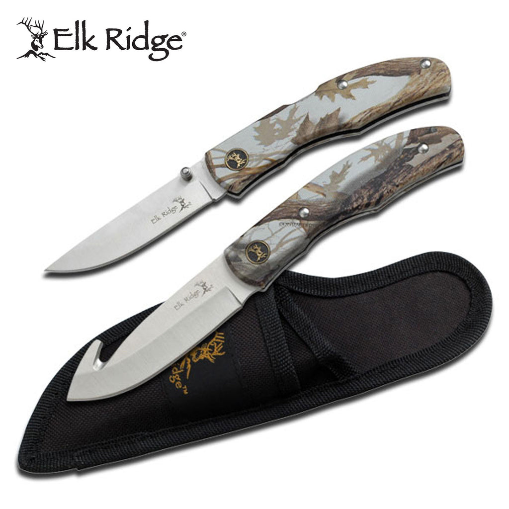 Elk Ridge ER-045CA Hunting Knife Set
