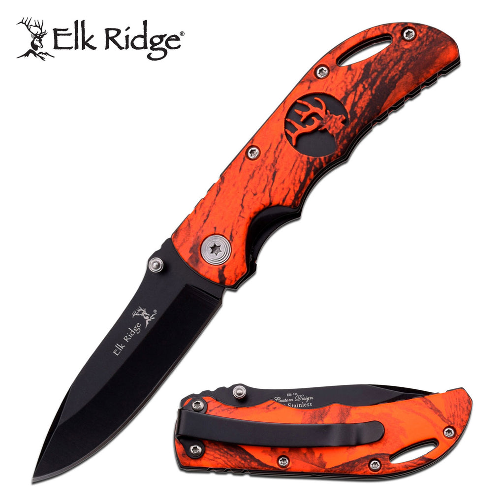 Elk Ridge ER-134RCB Folding Knife