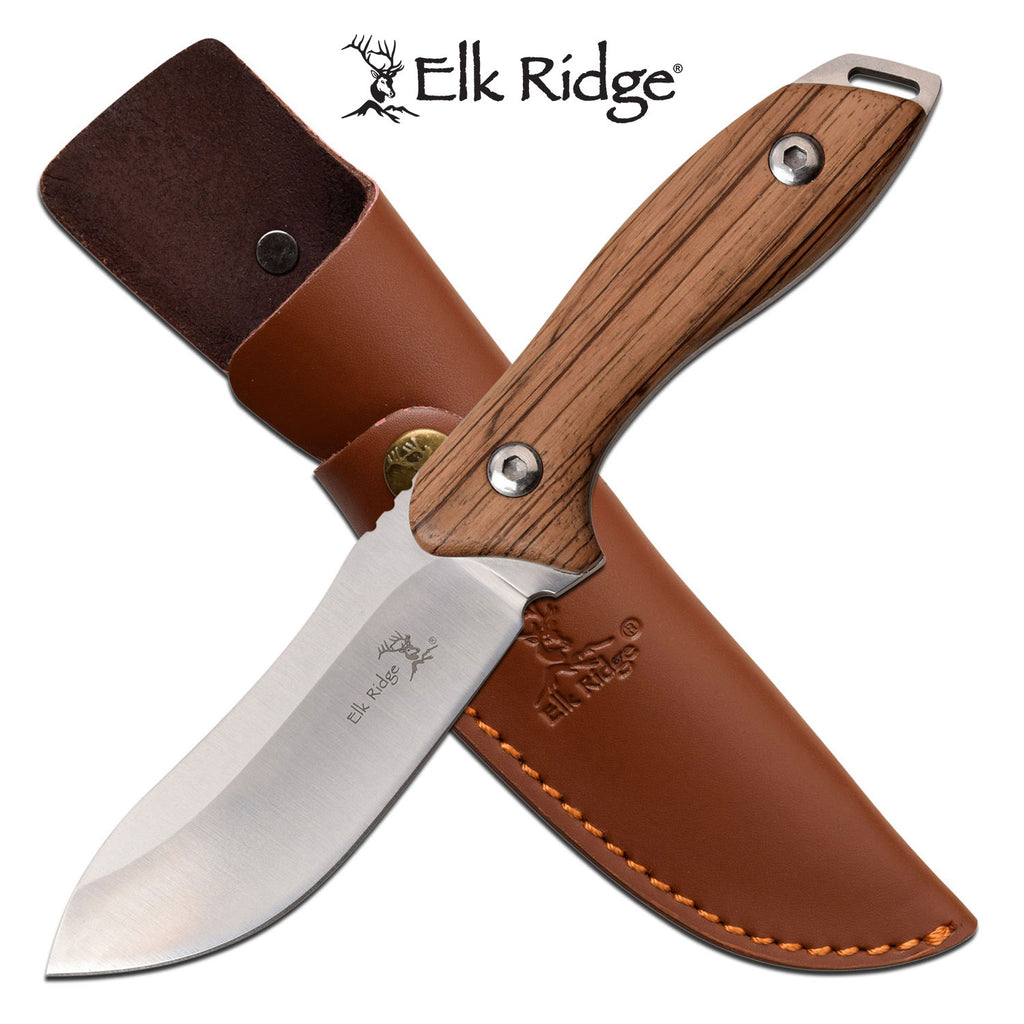 Elk Ridge ER-200-03D Fixed Blade Knife
