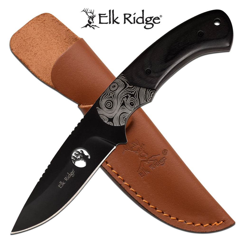 Elk Ridge ER-200-09BK Fixed Blade Knife