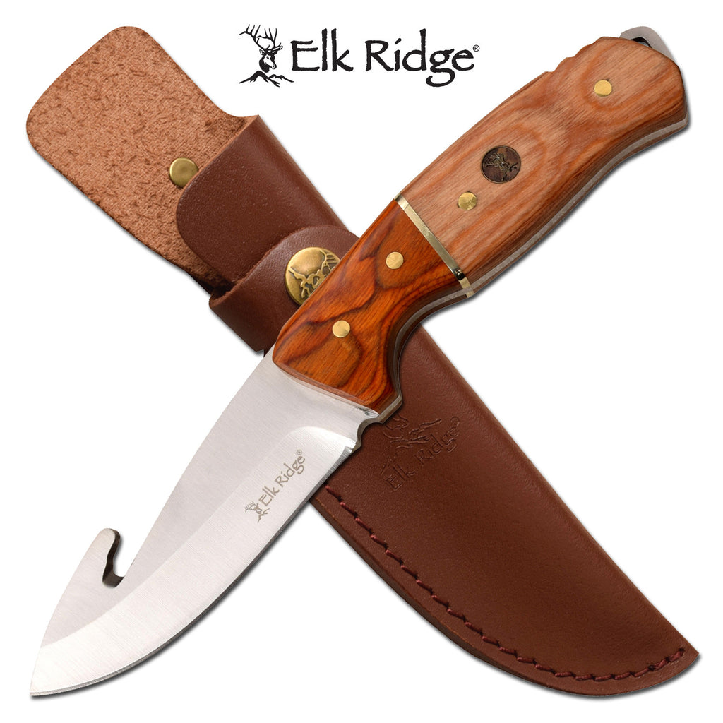 Elk Ridge ER-200-19GN Fixed Blade Knife