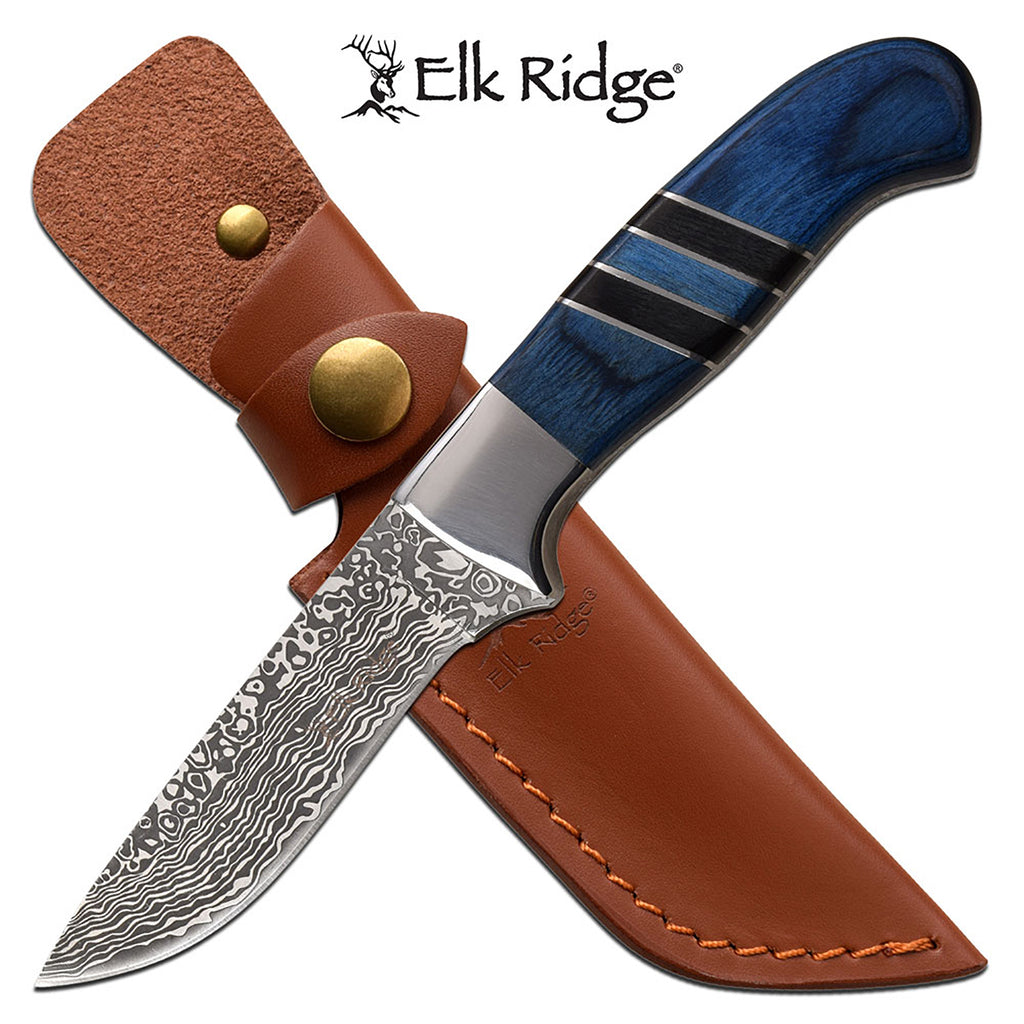 Elk Ridge ER-200-20BL Fixed Blade Knife
