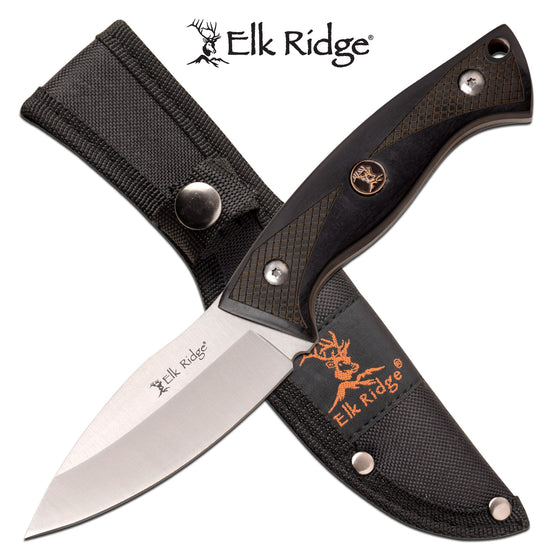 Elk Ridge ER-200-22BK Fixed Blade Knife