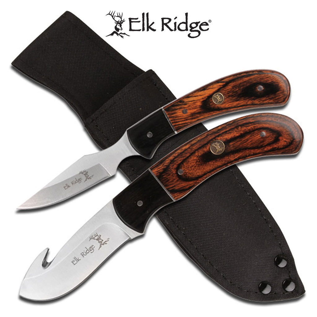 Elk Ridge ER-250WD Hunting Knife Set