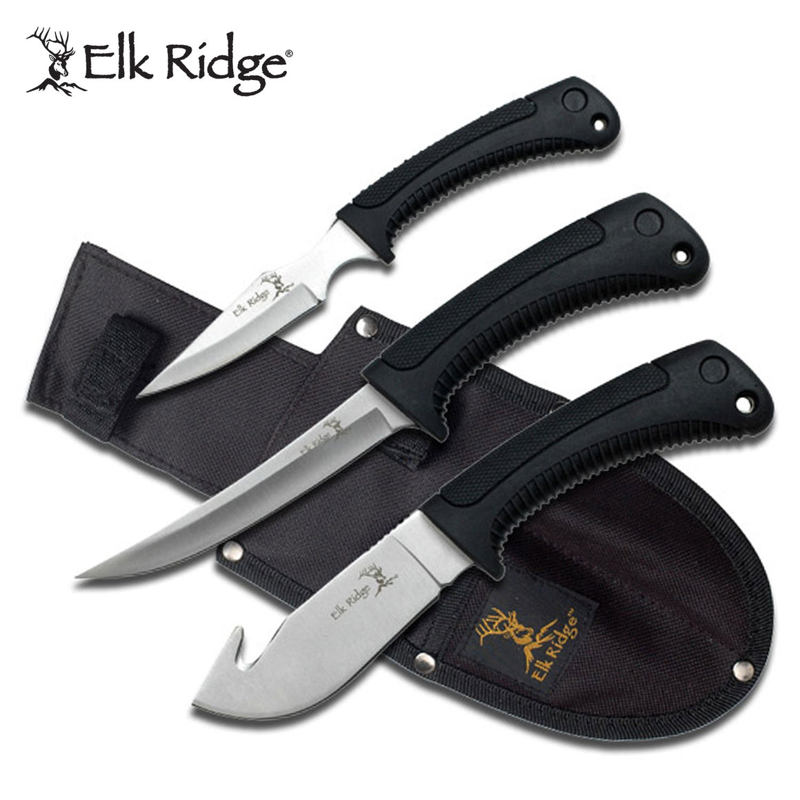 Elk Ridge ER-261 Hunting Knife Set