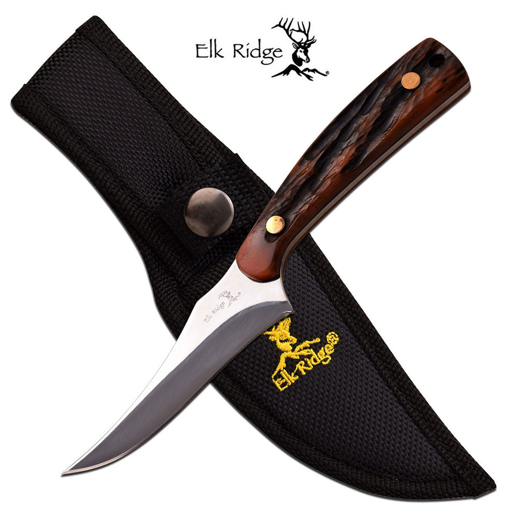 Elk Ridge ER-299BN Fixed Blade Knife