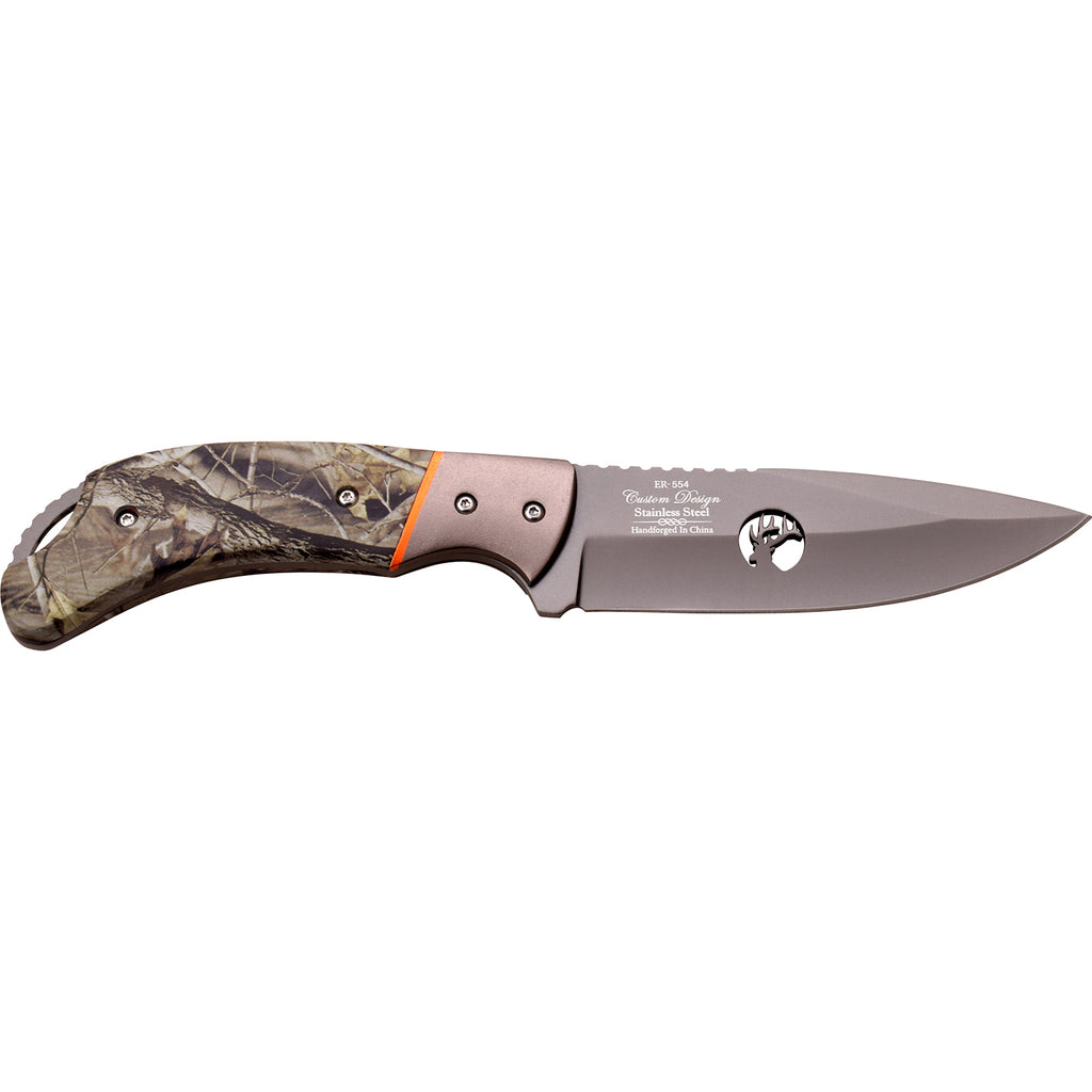 Elk Ridge ER-554CA Fixed Blade Knife