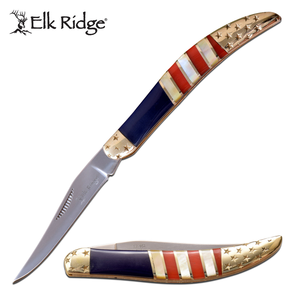 Elk Ridge ER-952AF Folding Knife