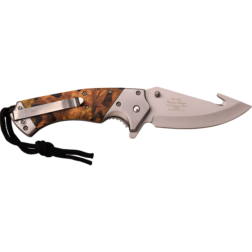 Elk Ridge ER-A007CA Spring Assisted Knife