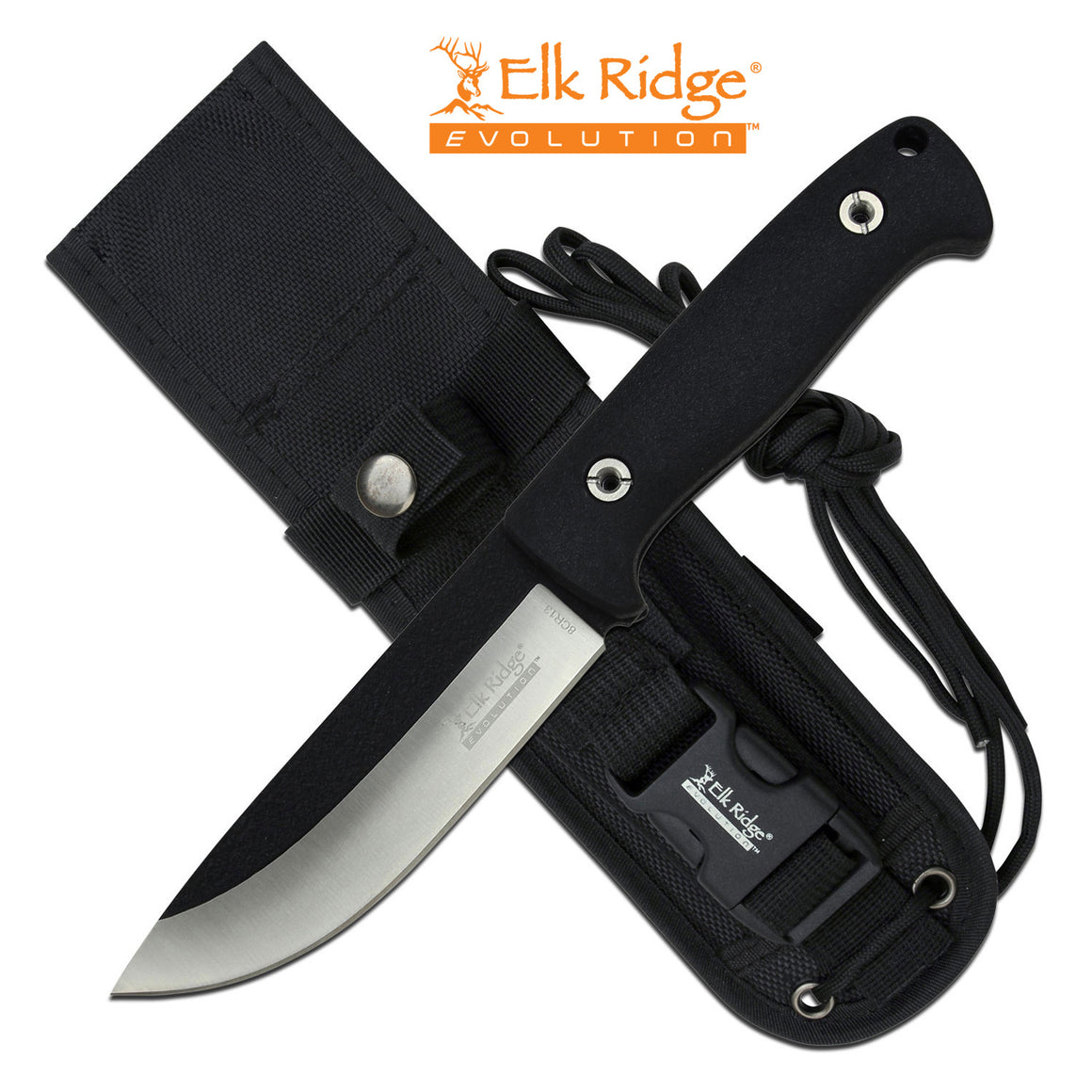 Elk Ridge Evolution ERE-FIX001-BK Fixed Blade Knife